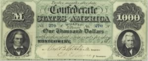 Confederate States of America, $1,000 John C. Calhoun and Andrew Jackson..jpg