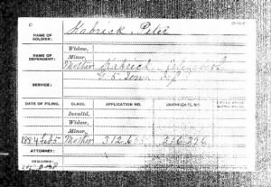 4 Feb 1885 US Civil War Pension Application for Peter Jeremiah Kabrich.jpg