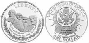 Mount Rushmore commemorative coin series