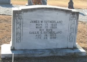 James William Sutherland tombstone.jpg