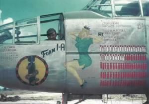 B-25 Bill bierds, Form 1-A in color.jpg