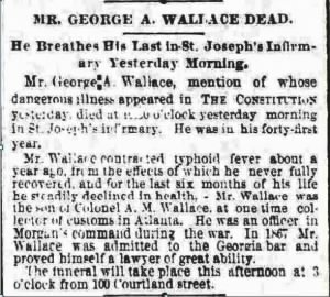 George A Wallace 1887 Death Notice2.JPG