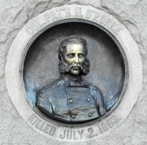 Bas-relief of Colonel Patrick Henry O'Rorke.jpg