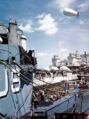 USS DOROTHEA L DIX AP67 Weymouth Harbor England uploaded.jpg