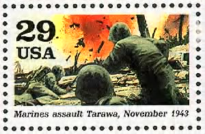 Marines assault Tarawa.gif
