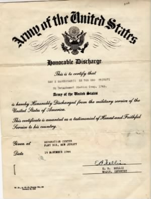 Sangregario, Sam S. USA Army Honorable Discharge.jpg