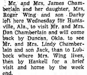 James Chamberlains 1968 to Visit Dan Chamberlains in AL.png