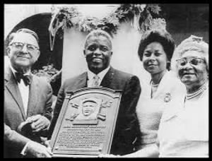 Branch Rickey, Jackie, Rachel and Malie Robinson.jpg