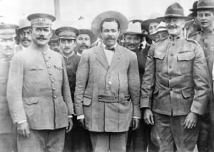 Generals Obregón, Villa, and Pershing.jpg