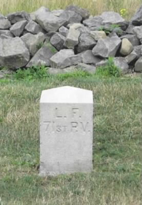 Left Flank marker to the 71st Pennsylvania.png