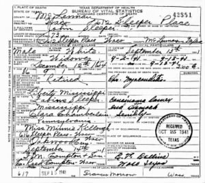 John Sleeper 1941 TX Death Cert.jpg