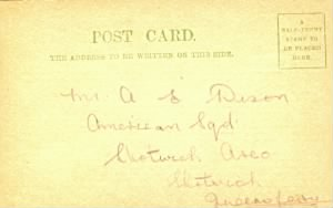 WWI Postcard to A E Dixon.jpg