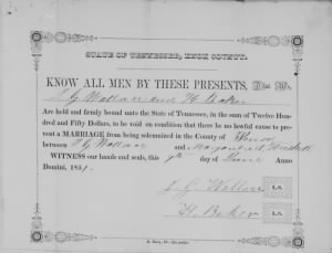 Jesse G Wallace 1851 to Margaret A Heiskell Marriage Bond.jpg