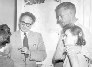 Clifford Odets, Nicholas Ray and Natalie Wood.jpg