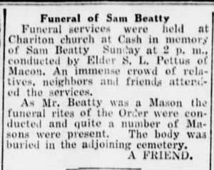Samuel G Beatty 1932 Funeral.jpg