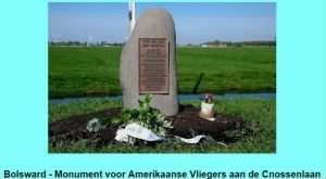 Monument for Snow Goose aircrew in Bolsward, Netherlands.jpg