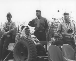 Pedro del Valle, Thomas Holcomb, and Alexander Vandegrift, 1942.jpg