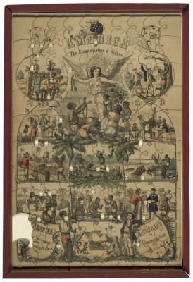 The Emancipation of Slaves -  Jigsaw Puzzle