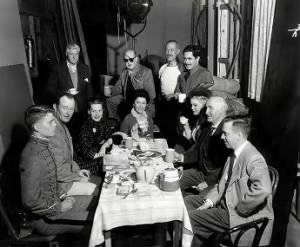 Cast of the Long Gray Line, and John Wayne and John Ford.jpg