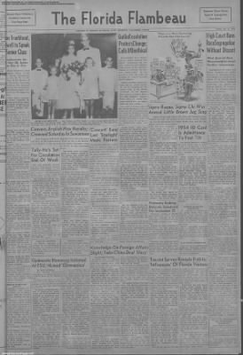 1954-May-18 FSView & The Florida Flambeau, Page 1
