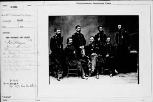 B-4561 Gen. Sherman and Staff