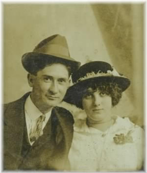 Frank and his wife Myrtle