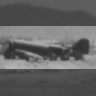 Wrecked C-47