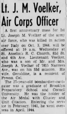Voelker, Joseph M._Brooklyn Daily Eagle_NY_Mon_01 Oct 1945_Pg 7.JPG