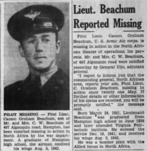 Beachum, Graham Carson_Daily Press_Newport News, VA_Sat_12 June 1943_Pg 7.JPG