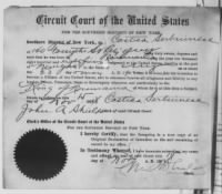"researching naturalization papers Naturalization certificates, often called ""third papers,"" were issued to newly naturalized citizens as evidence of their status prior to 1907, standardized forms were not used, and few courts retained copies of the certificates."