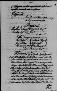 Ratified Indian Treaties Example Record