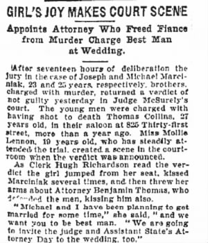 Chicago Tribune 1908